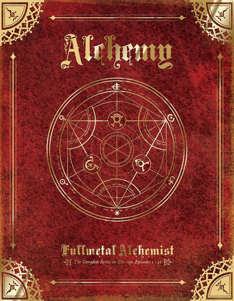 Fullmetal Alchemist Complete Series Collector's Edition Blu-ray 704400081262