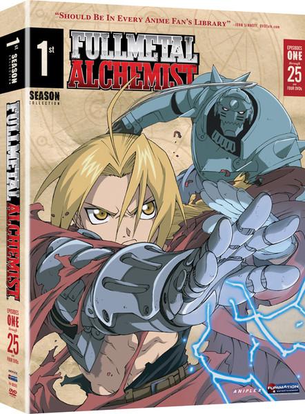 Fullmetal Alchemist Season 1 Box Set DVD Viridian Collection
