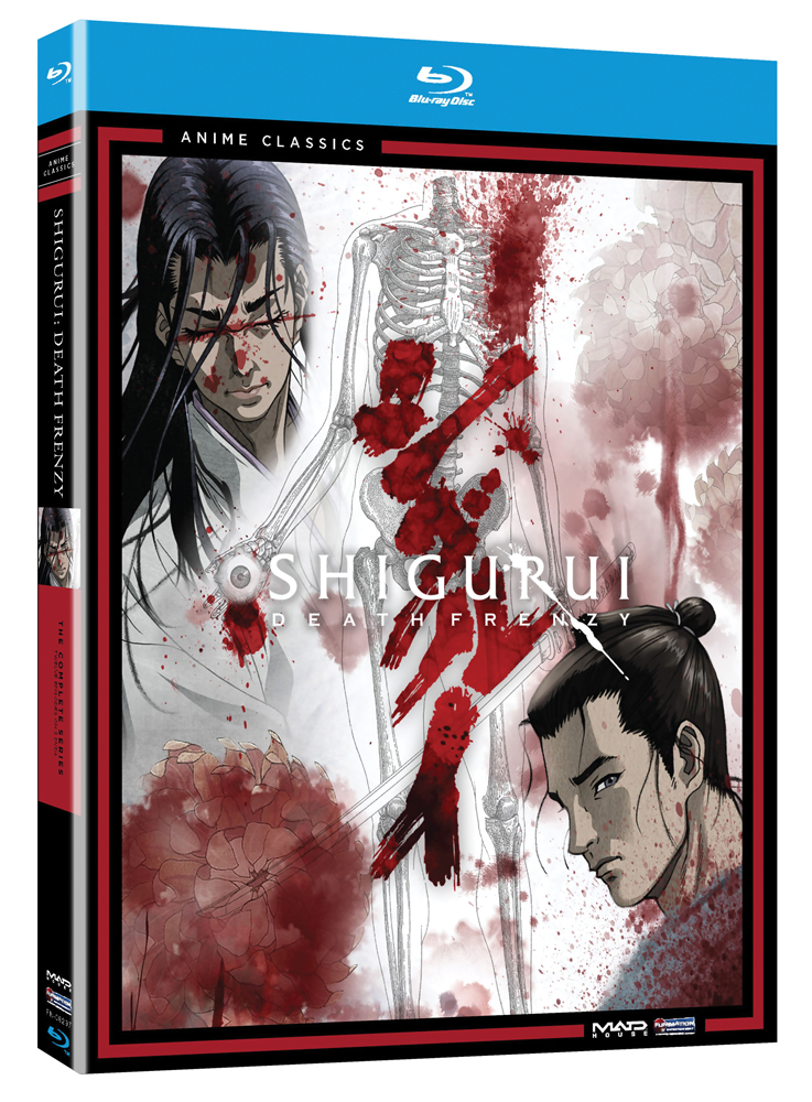 Shigurui Death Frenzy Blu-ray Anime Classics 704400082979