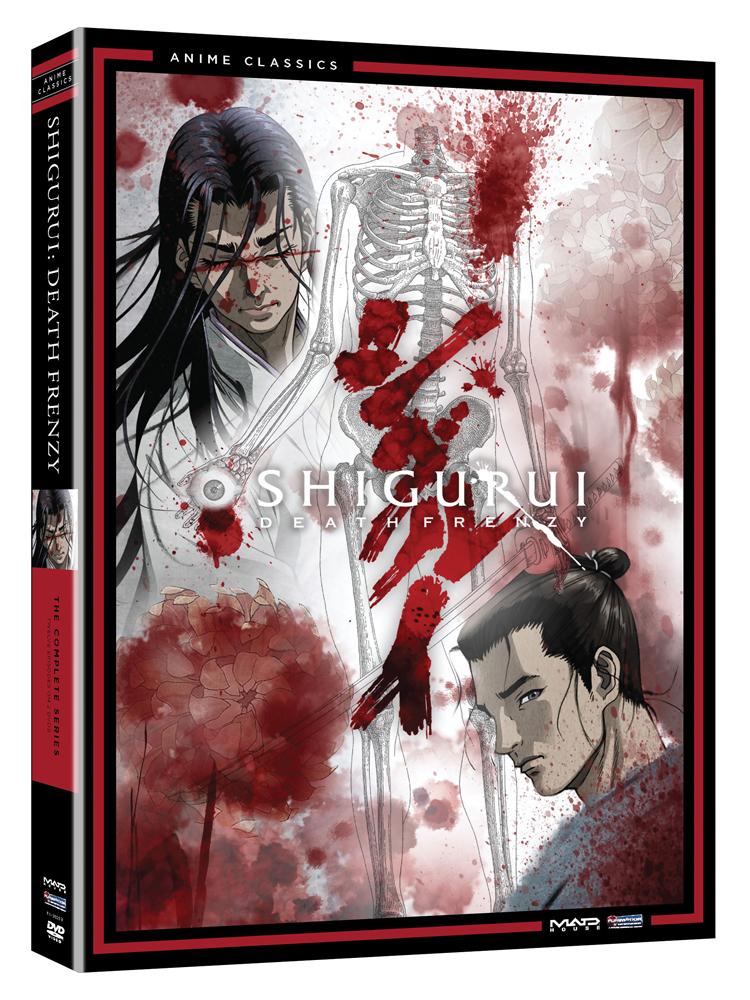 Shigurui Death Frenzy Complete Series DVD Anime Classics 704400082993