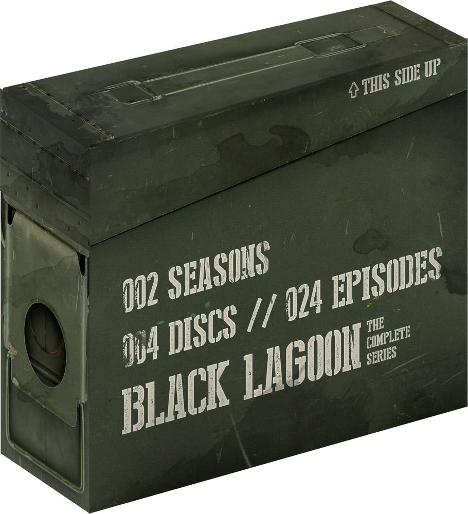 Black Lagoon Complete Series + OVA Premium Edition Blu-ray 704400083150