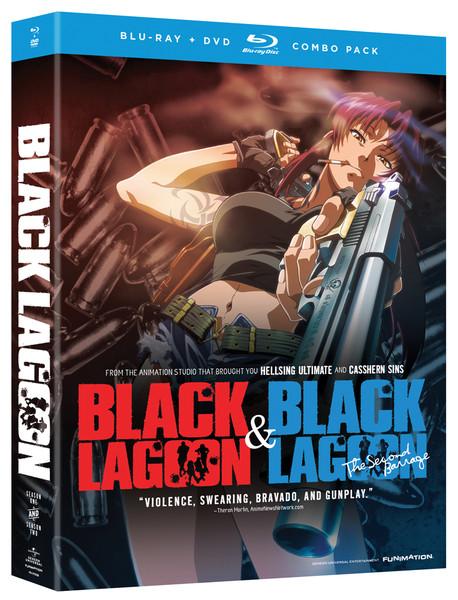 Black Lagoon Blu-ray/DVD Anime Classics