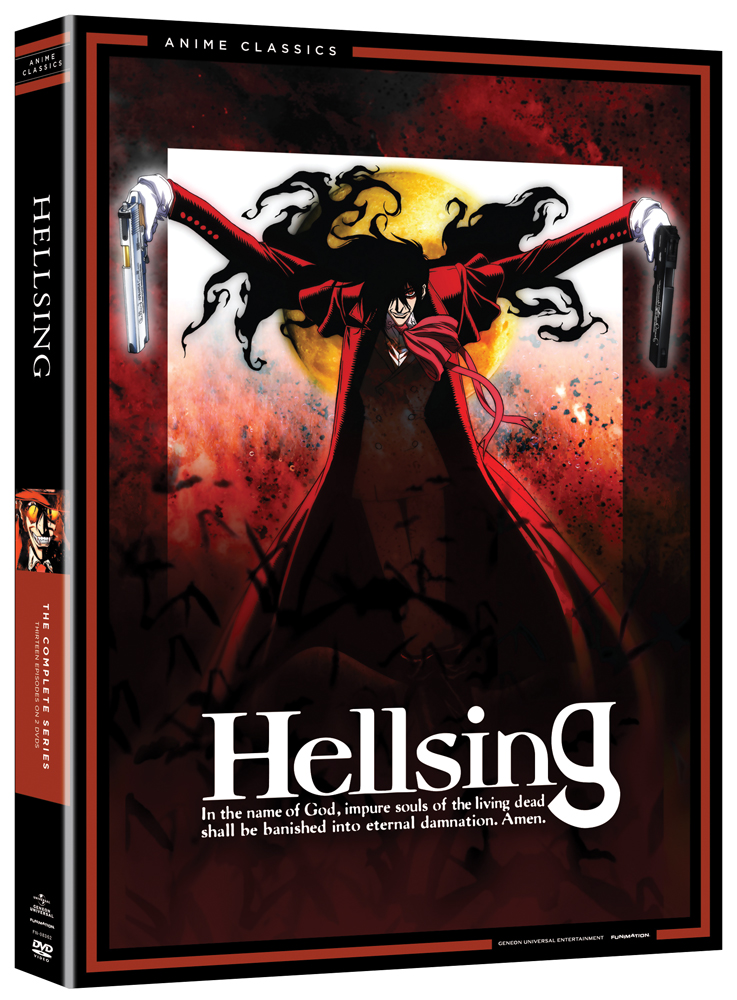 Hellsing Complete Series DVD Anime Classics 704400083624