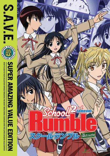 School Rumble Season 2 Complete Collection DVD SAVE Edition