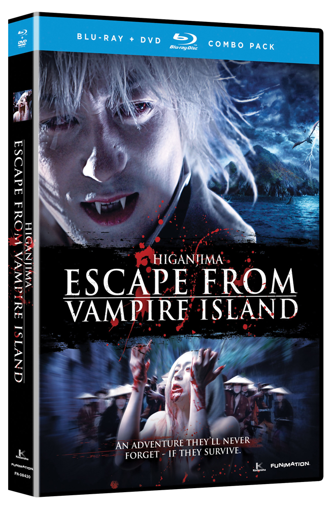 Higanjima Escape From Vampire Island Blu-ray/DVD LiveAction 704400084201