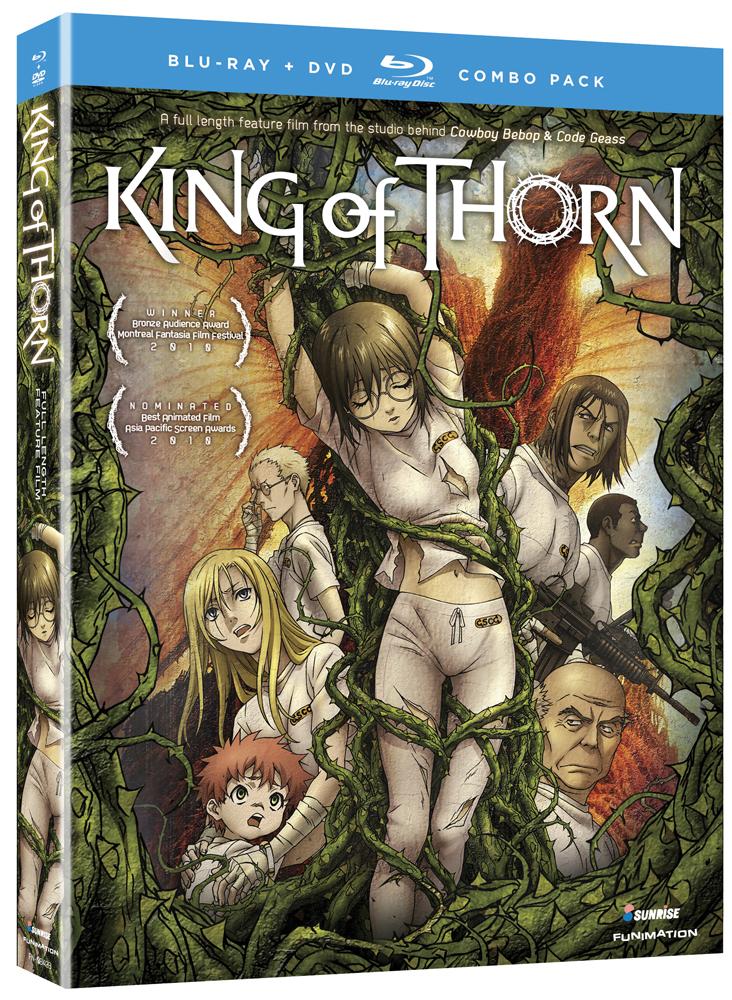 King of Thorn Blu-ray/DVD 704400084232