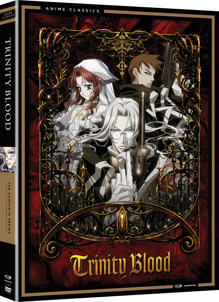 Trinity Blood Complete Series DVD Anime Classics 704400084713