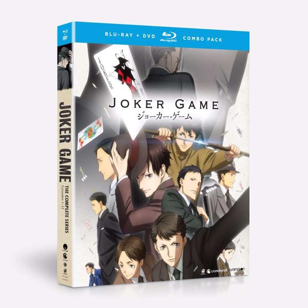 Joker Game Blu-ray/DVD