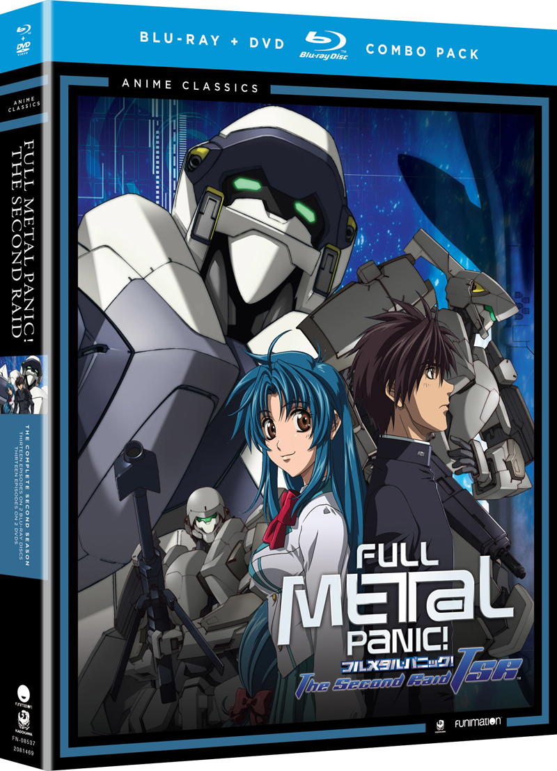 Full Metal Panic The Second Raid Complete Series Blu-ray/DVD Anime Classics 704400085376