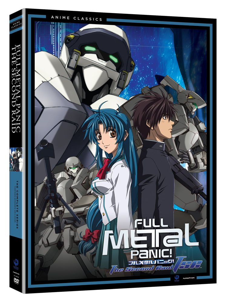 Full Metal Panic The Second Raid Complete Series DVD 704400085383