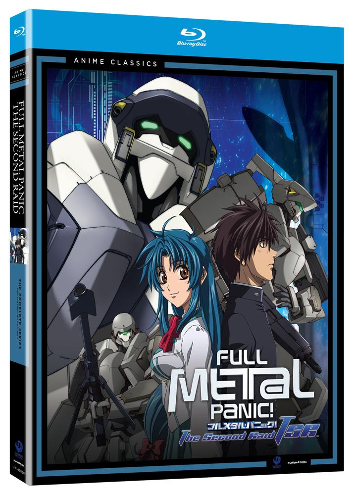 Full Metal Panic The Second Raid Complete Series Blu-ray Anime Classics
