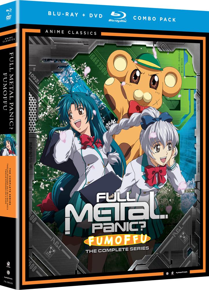 Full Metal Panic Fumoffu Blu-ray/DVD Anime Classics