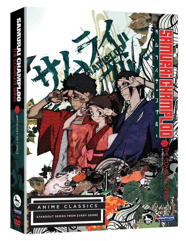Samurai Champloo Complete Series DVD Anime Classics 704400086588