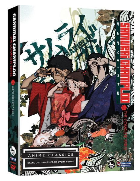 Samurai Champloo Complete Series DVD Anime Classics