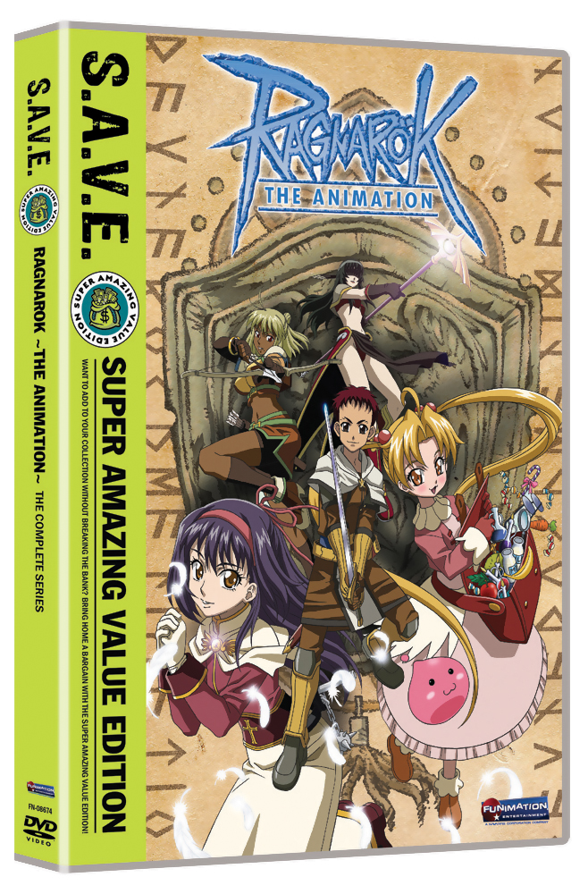 Ragnarok Complete Series DVD S.A.V.E. Edition 704400086748