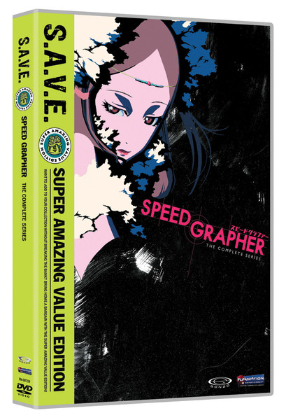 Speed Grapher Complete Series DVD SAVE Edition