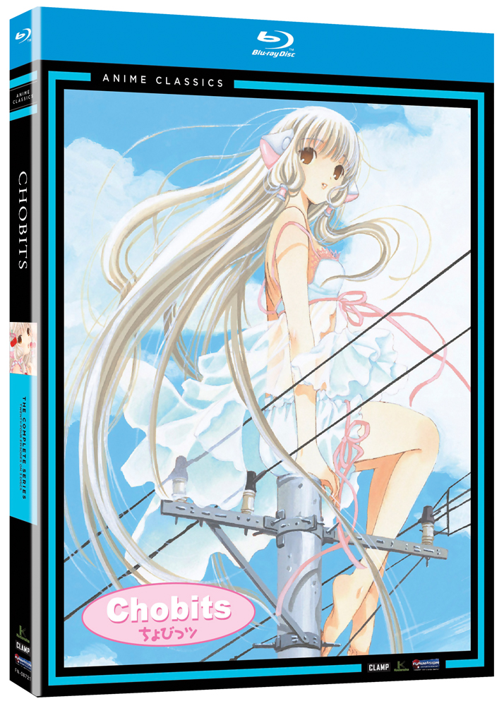 Chobits Complete Series Blu-ray Anime Classics