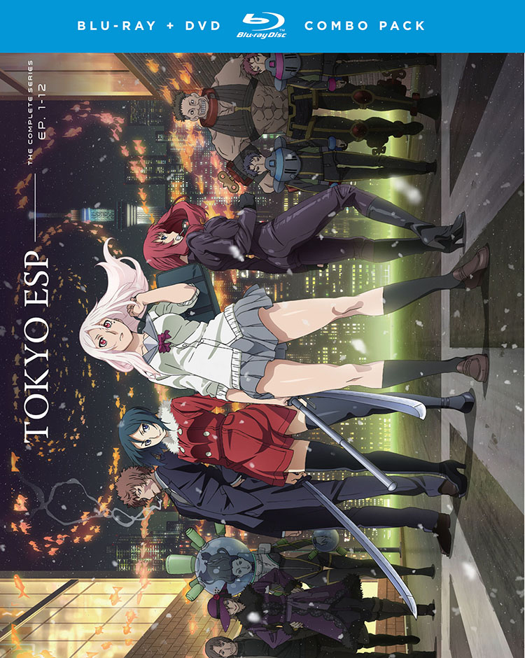 Tokyo ESP Blu-ray/DVD 704400087271