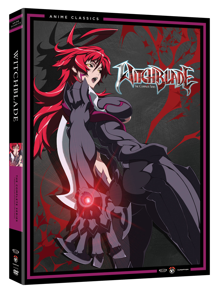 Witchblade Complete Series DVD Anime Classics 704400087332