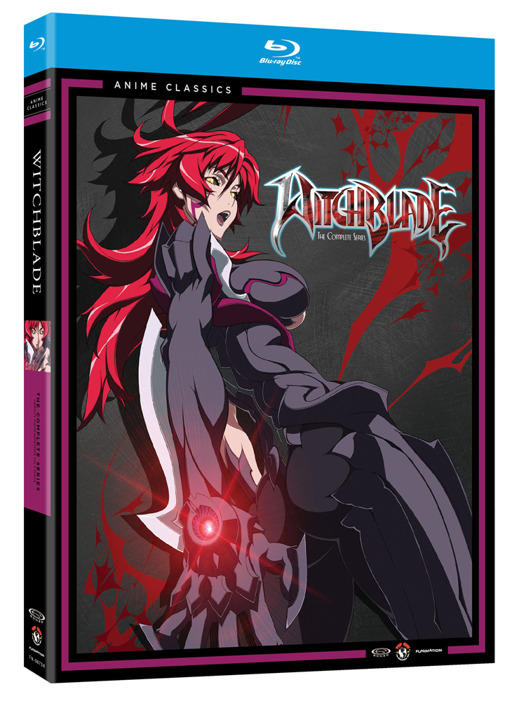 Witchblade Complete Series Blu-ray Anime Classics 704400087349
