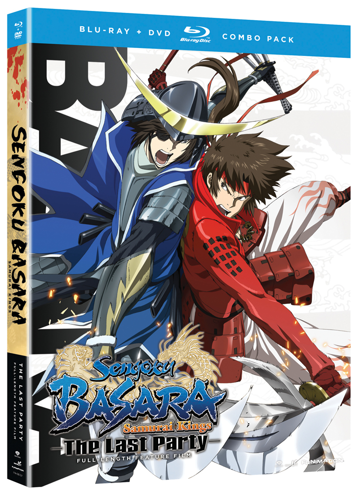 Sengoku Basara Samurai Kings Movie The Last Party Blu-ray/DVD 704400087370