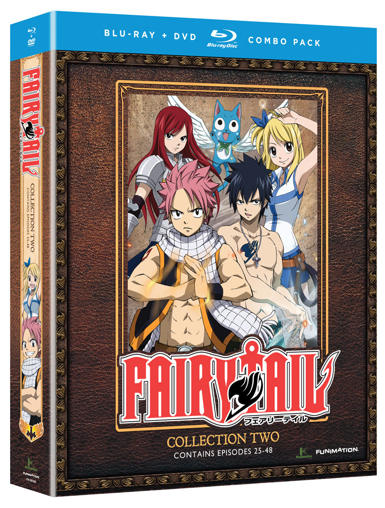 Fairy Tail Collection 2 Blu-ray/DVD 704400087684