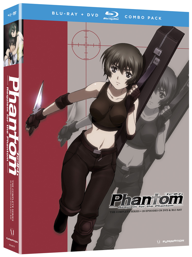 Phantom Requiem for the Phantom Complete Series Blu-ray/DVD 704400087745