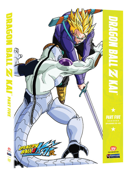 Dragon Ball Z Kai Part 5 DVD
