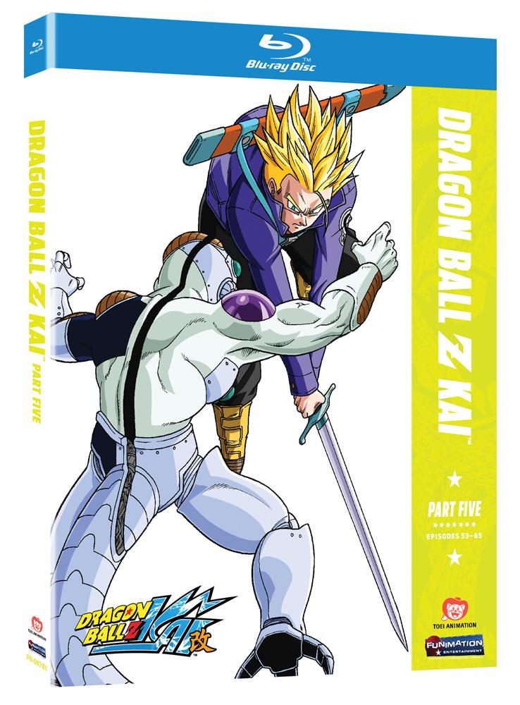 Dragon Ball Z Kai Part 5 Blu-ray 704400087899