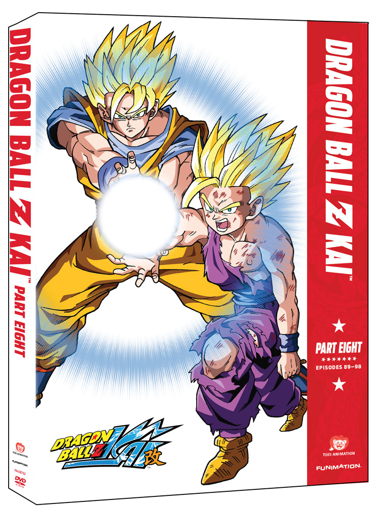Dragon Ball Z Kai Part 8 DVD 704400087943