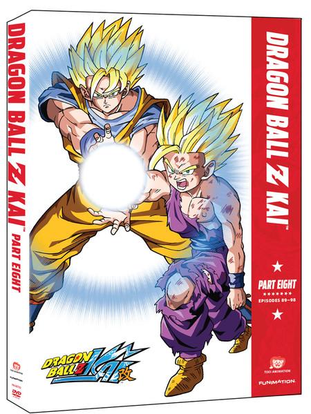 Dragon Ball Z Kai Part 8 DVD
