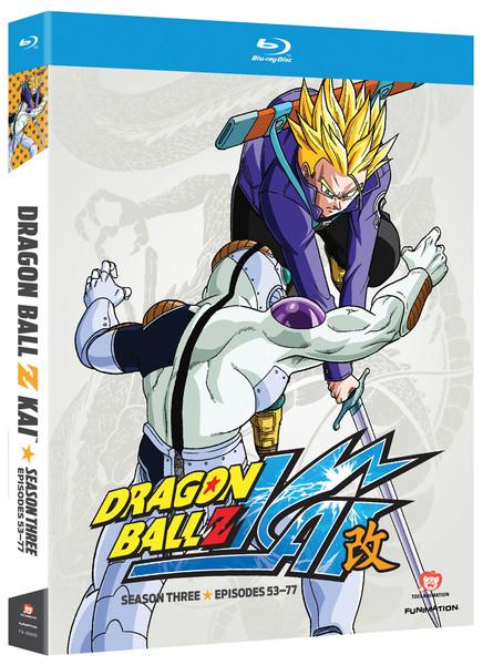 Dragon Ball Z Kai Season 3 Blu-ray