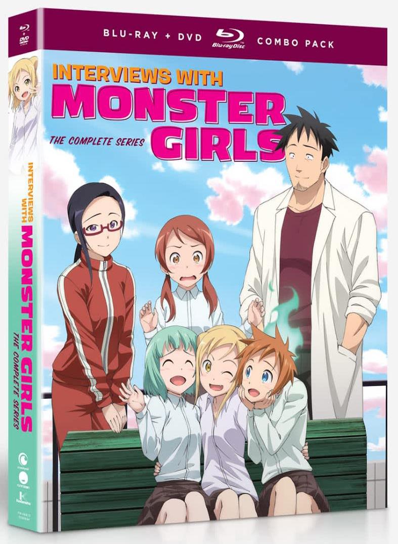 Interviews with Monster Girls Blu-ray/DVD 704400088131