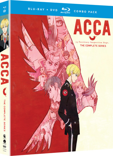 ACCA 13 Territory Inspection Dept Blu-Ray/DVD