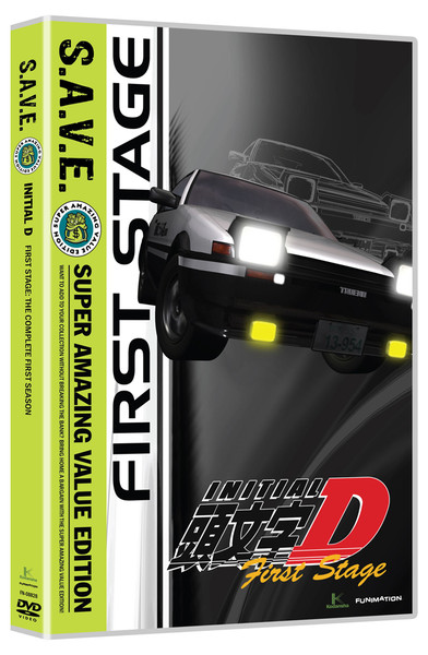 Initial D Stage 1 Complete Collection DVD SAVE Edition