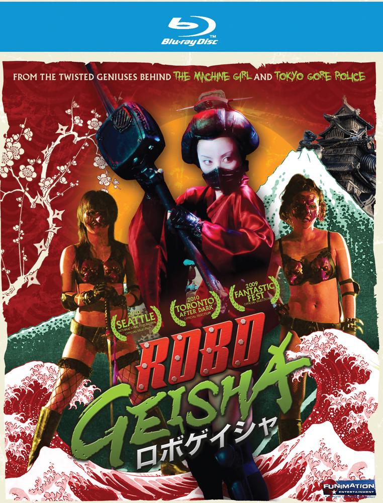 RoboGeisha Blu-ray 704400088315