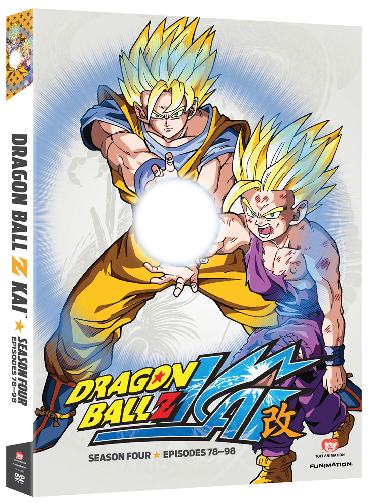 Dragon Ball Z Kai Season 4 DVD 704400088346
