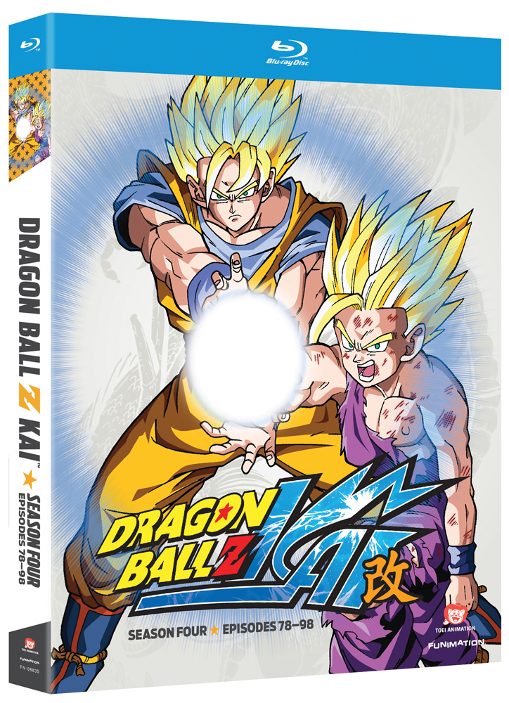 Dragon Ball Z Kai Season 4 Blu-ray 704400088353