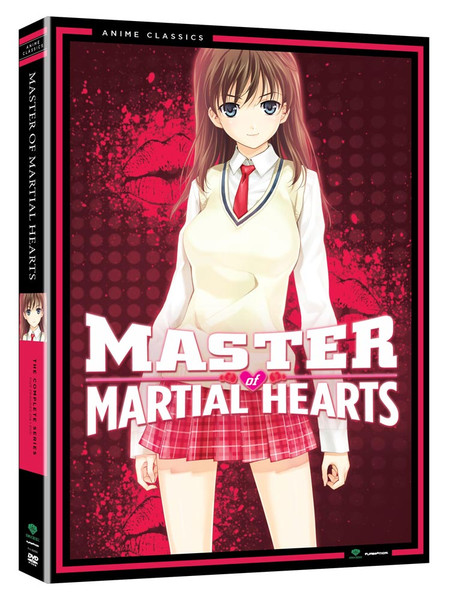 Master of Martial Hearts DVD Anime Classics