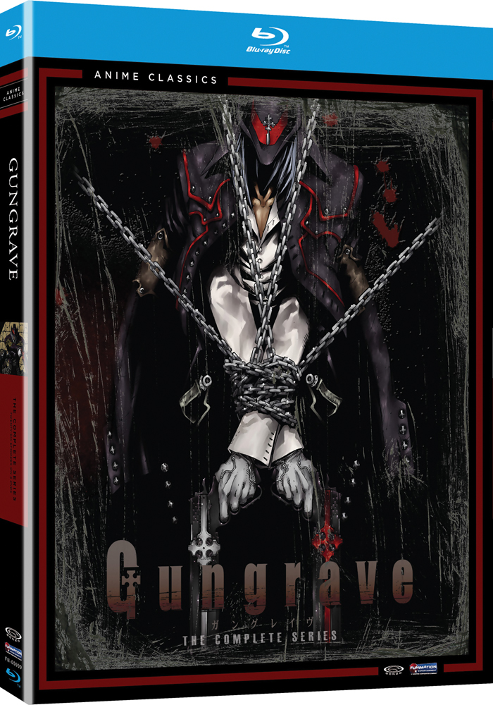 Gungrave Complete Series Blu-ray Anime Classics 704400088483