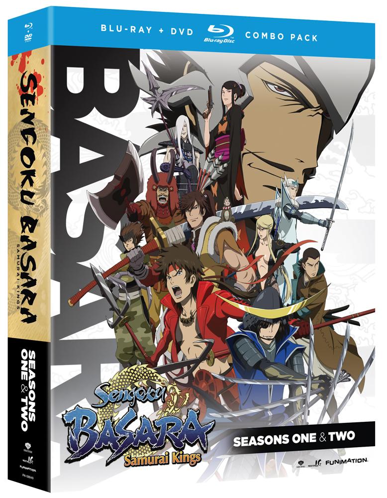 Sengoku Basara Samurai Kings Complete Series Blu-ray/DVD 704400088490