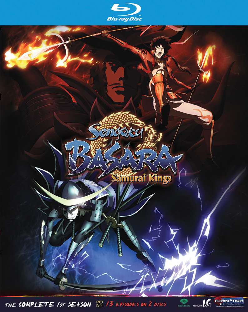 Sengoku Basara Samurai Kings Season 1 Blu-ray 704400088513