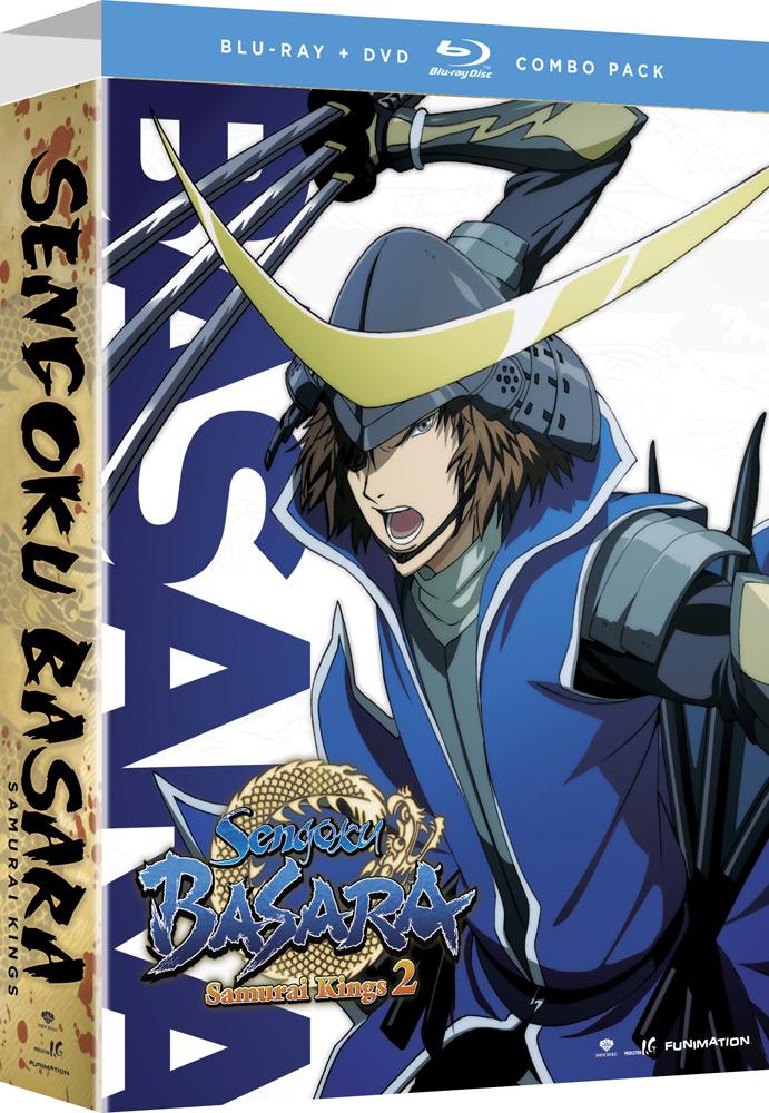 Sengoku Basara: Samurai Kings Season 2 Limited Edition Blu-ray/DVD 704400088537