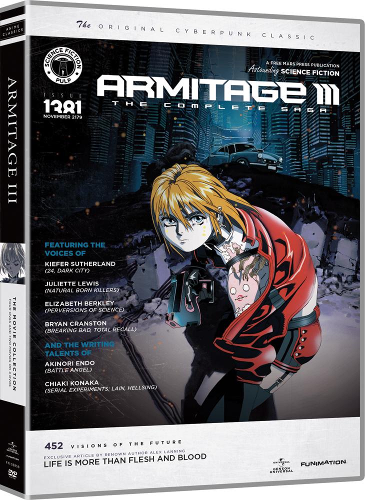 Armitage III Complete Saga DVD Anime Classics (2nd Ed)