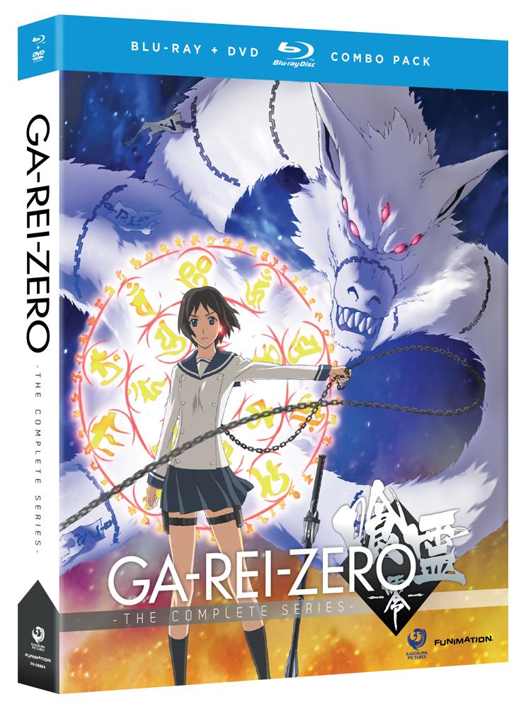 Ga-Rei-Zero Blu-ray/DVD 704400088841