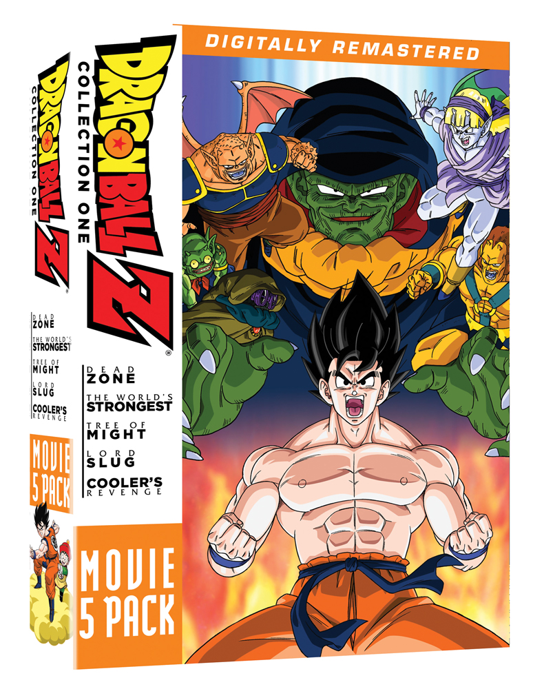 Dragon Ball Z Movie Collection 1 DVD 704400088865