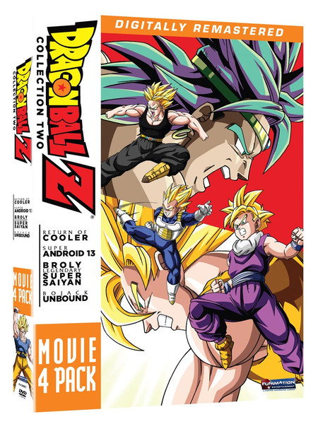 Dragon Ball Z Movie Collection 2 DVD (Movies 6-9)