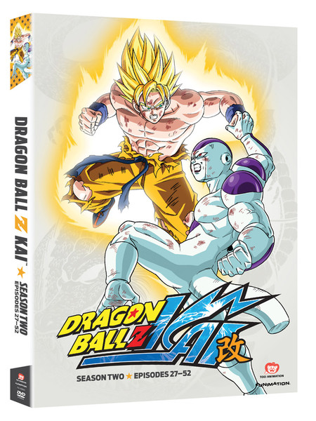 Dragon Ball Z Kai Season 2 DVD