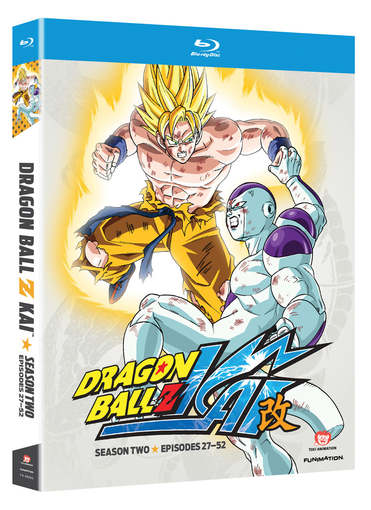 Dragon Ball Z Kai Season 2 Blu-ray 704400088957