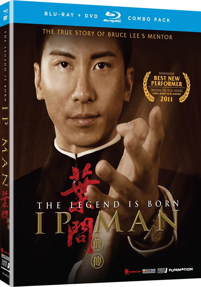 Ip Man The Legend is Born Blu-ray/DVD 704400089268
